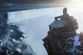 Картинка скала, дом, холод, снег, арт, Game of Throne, Sergey Musin
