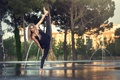 Картинка шпагат, гимнастка, Eva Le Bolzer