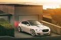 Картинка Jaguar xjf, promiz, ягуар, гараж