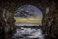 Картинка Bridge, Scotland, Tunnel, Seascape