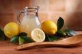 Картинка lemonade, fruit, pitcher, juice, lemon