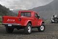 Картинка Jeep, j-12, concept, джип, концепт, пикап, красный, вид сзади