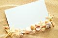 Картинка песок, ракушки, texture, sand, paper, seashells, starfishes