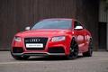 Картинка красный, Audi, тюнинг