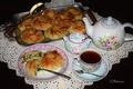 Картинка чайник, шпинат, булочки, выпечка, чай