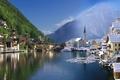 Картинка зима, лето, Австрия, грань
