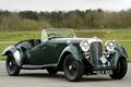 Картинка ретро, Рапид, Lagonda, Rapide, 1937, Лагонда, LG45, Tourer, передок