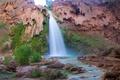 Картинка Arizona, водопад Хавасу, Большой каньон, Аризона, Гранд-Каньон, скала, Havasu Falls, Grand Canyon