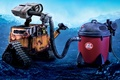 Картинка Wall-e, пылесос, робот
