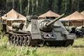 Картинка 4чел, двигателя, мощность, коллекция, WW2, самоходно, артиллерийская, САУ, советская, СУ-100, ВОВ, частная, военной, международный, ретро., ...