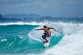 Картинка океан, серфинг, спорт, surfing, серфингистка