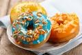 Картинка выпечка, пирожное, десерт, сладкое, donuts, глазурь, пончики