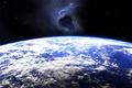 Картинка destruction, planet, potential impact, meteorite