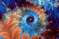 Картинка цвет, фракталы