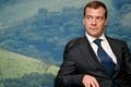 Картинка Дмитрий медведев, президент, взгляд, картина