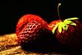 Картинка макро, картинка, обработка, цвет, ягоды, фрукты, фото, витамины, клубника