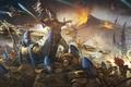 Картинка Warhammer 40000, эльдары, Eldar, Warhammer 40K, Warlock, Guardian, Wave Serpent, Iyanden, Йанден, Howling Banshee, Shining ...