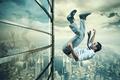 Картинка building, gravity, freefall