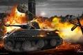 Картинка Wot, world of tanks, wargaming.net, танки, танк, vk2801, химмельсдорф