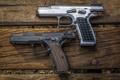 Картинка оружие, фон, стволы, пистолеты