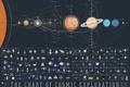 Картинка спутники, солнечная система, планеты