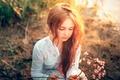 Картинка Serg Piltnik, девочка, солнечный свет