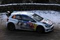 Картинка Зима, Авто, Белый, Снег, Спорт, Volkswagen, Машина, Red Bull, WRC, Rally, Ралли, Вид сбоку, Polo, ...