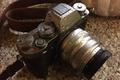 Картинка camera strap, drops, Fujifilm, lens, camera