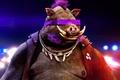 Картинка TMNT 2, pig, Teenage Mutant Ninja Turtles 2, powerful, piercing, movie, Bebop, evil, Teenage Mutant ...