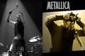 Картинка музыка, сцена, music, концерт, рога, микрофон, актёр, Rock, музыкант, электрогитара, Рок, певец, Metallica, поэт, трэш-метал, ...