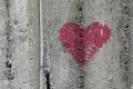 Картинка фон, стена, сердце