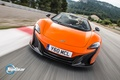 Картинка McLaren, Track, Top Gear, Orange, Spider, 650S, Speed, Front