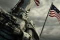 Картинка Fallout, bethesda, флаг