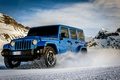 Картинка Jeep Wrangler Polar, снег, горы, машина, авто, автомобиль