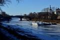 Картинка Вологда, корабли, река, причал