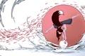 Картинка Kate-FoX, грация, girl, луна, kitsune, вода, Katrin, солнце, рыба