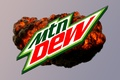 Картинка mlg, Mountain dew, DEW, dew, MTN, взрыв, mountain, mtn
