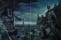 Картинка Бэтмен, Batman, DC Comics, Gotham, Готэм.