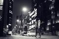 Картинка улица, ночь, девушка
