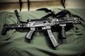 Картинка оружие, пистолет пулемет, ПП-19-01, Витязь-СН