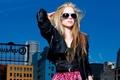Картинка очки, Avril Lavigne, Аврил Лавин, певица, девушка