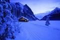 Картинка Новый год,  снег, зима, дом