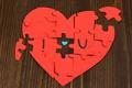 Картинка любовь, красный, фон, настроения, сердце, пазлы, love, сердечко, широкоформатные, полноэкранные, HD wallpapers, широкоэкранные