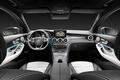 Картинка Mercedes-Benz, интерьер, руль, салон, мерседес, панель приборов, торпедо, 4MATIC, 2015, X205, GLC 350
