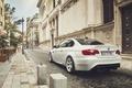 Картинка Car, City, E92, Sport, White, Rear, Tuning, BMW