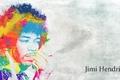 Картинка стиль, гитарист, психоделика, композитор, многоцветность, Джими Хендрикс, Jimi Hendrix, певец