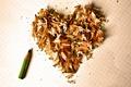 Картинка карандаш, фон, сердце