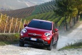 Картинка Fiat, 500X, Cross, (2015), Red