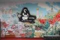 Картинка кино, он жив, граффит, Виктор Цой