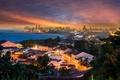 Картинка Бразилия, мост, Ресифи, Olinda, порт, море, озеро, закат